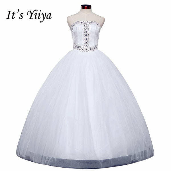 HOT Free shipping new princess wedding dress 2015 plus size fashionable cheap bridal Vestidos De Novia white wedding gown Y276