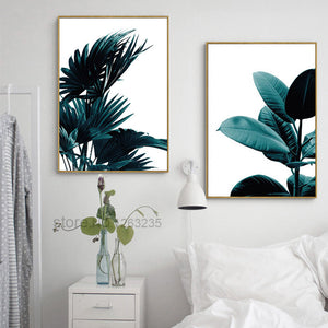 Posters And Prints Wall Art Canvas Painting Wall Pictures For Living Room Canvas Art Coconut Cuadros Tree Nordic Poster Unframed