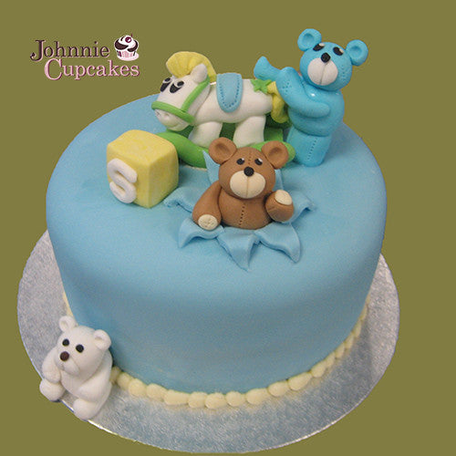 Teddy Bears Cake - Johnnie Cupcakes