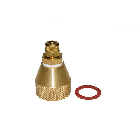Replacement Water Supply Adapter for Water Cooled Drill Systems.