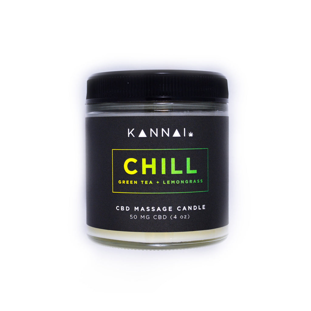 KANNAI Hemp Massage Candle 4oz