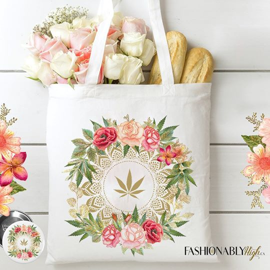 FH - Rose Buds & Flowers Tote Bag