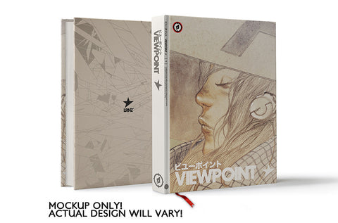 VIEWPOINT hardcover art book by LRNZ