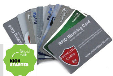 RFID Blocking Card for Wallet or Card Holder by Protected Cards