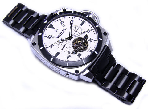 Special DLC Band Black Glow Numbers by WOLFE WATCHES