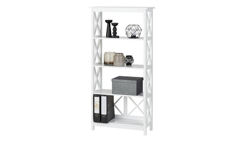 Country - Shelf with 4 Fields, white