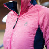 Horze Supreme Women's Zoe Lightweight Padded Jacket in Pink