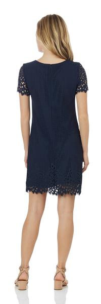 Jude Connally Ella Dress in Spring Lace Navy