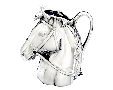 Vagabond House Equestrian Horseshoe Tall Liquor Decanter