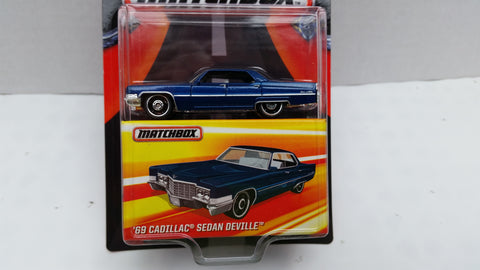 Matchbox Best of the World, Series 1, '69 Cadillac Sedan Deville