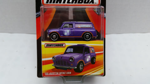 Matchbox Best of the World, Series 1, '65 Austin Mini Van