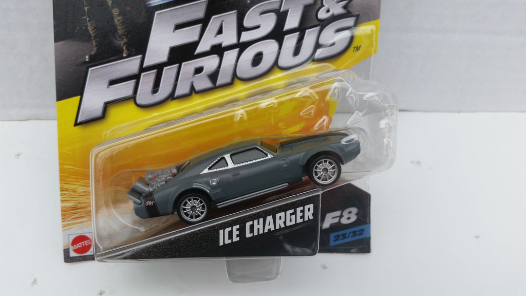 Hot Wheels Fast and Furious 1:55 Scale, Ice Charger