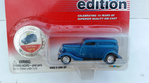 Johnny Lightning 10th Anniversary Edition, '33 Ford Delivery
