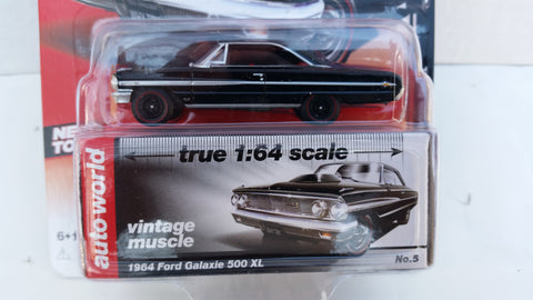Autoworld Premium, Release 5B, 1964 Ford Galaxie 500 XL