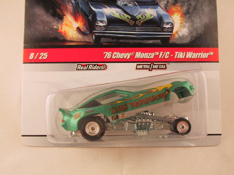 Hot Wheels Drag Strip Demons 2010, '76 Chevy Monza F/C - Tiki Warrior