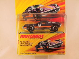 Matchbox Lesney Edition, '72 Lotus Europa Special