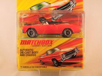 Matchbox Lesney Edition, '71 Chevelle SS Convertible
