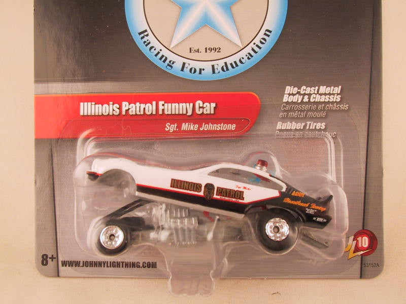 Johnny Lightning 2.0, Release 10, Illinois Patrol Funny Car