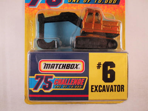 Matchbox 75 Challenge Gold Vehicle, #06 Excavator