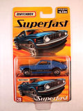 Matchbox Superfast 2005 USA, #28 1970 Mustang Boss 302