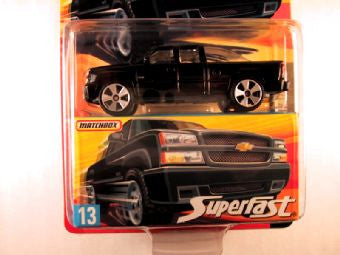 Matchbox Superfast 2006-2007, #13 Chevrolet Silverado SS