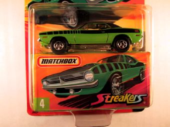 Matchbox Superfast 2006-2007, #04 Plymouth Hemi Cuda