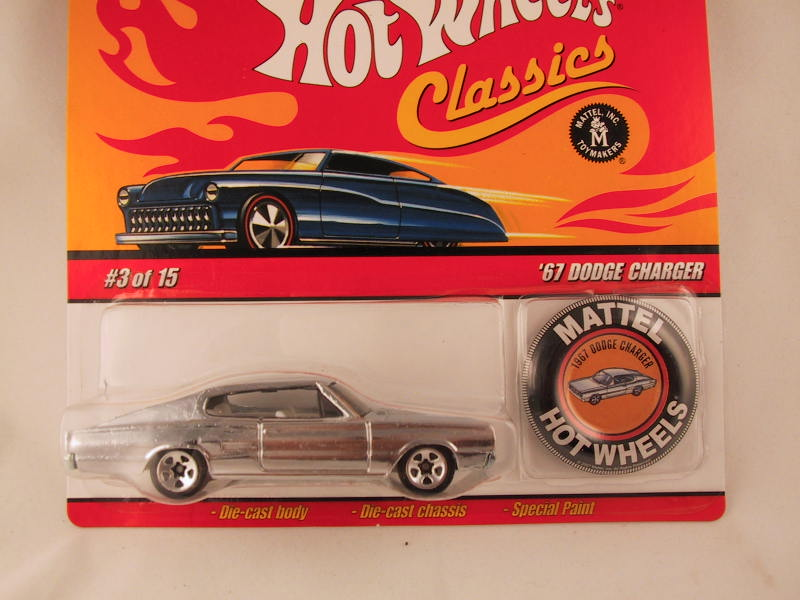 Hot Wheels Classics with Button, '67 Dodge Charger