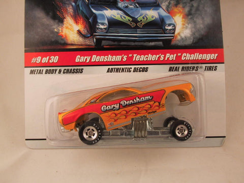 "Hot Wheels Drag Strip Demons 2009, Gary Densham's ""Teacher's Pet"" Challenger"