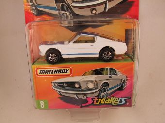 Matchbox Superfast 2006-2007, #08 1985 Ford Mustang GT