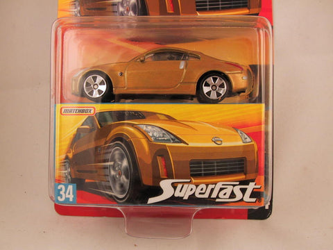 Matchbox Superfast 2006-2007, #34 Nissan Z