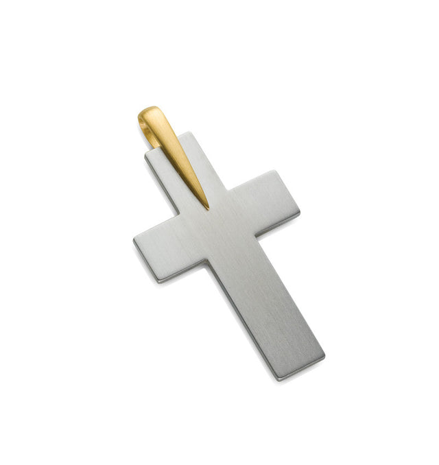 40-2397-3 Stainless Steel Cross Pendant