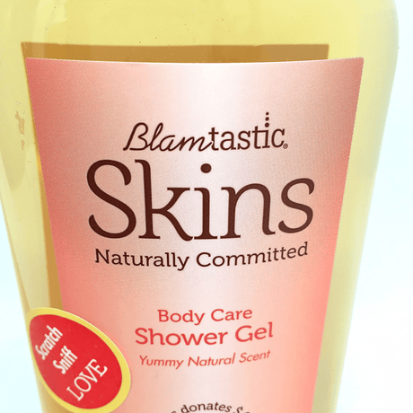 BLAMtastic® SKINS Shower Gel 12 oz.
