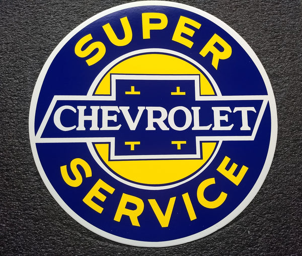 CHEVROLET DECAL-12