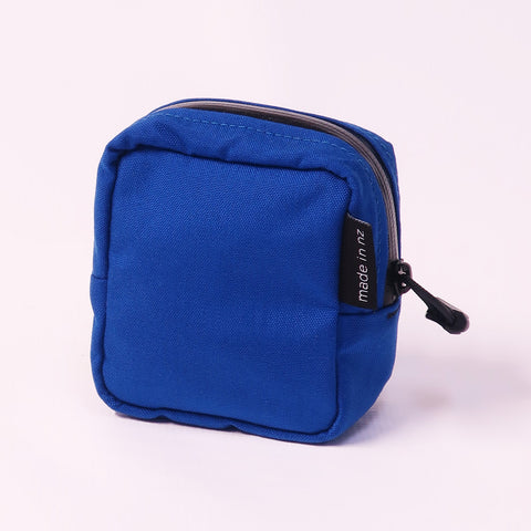 Zipped organisational pouch
