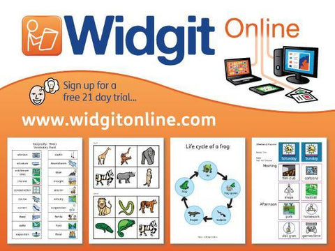 Widgit Online for Home - Annual Subscription - Bridges Canada