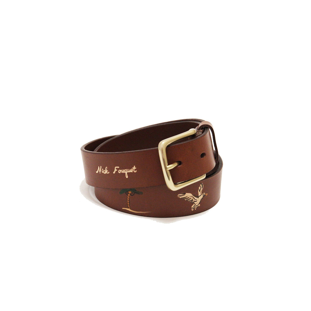 NF Safari Belt - Brown