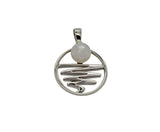 Staircase to the Moon Pendant Small Round