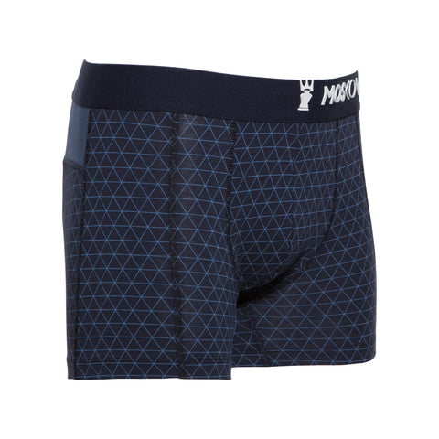 M2 Cotton Navy Triangle Boxer Brief