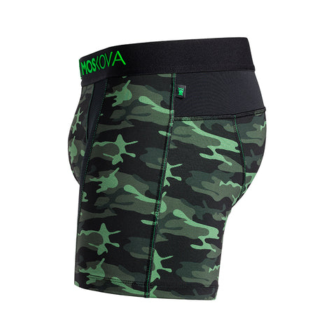 M2 TECH SHORT CAMO GREEN
