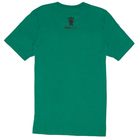 MOSKOVA CROWN TEE - EVERGREEN