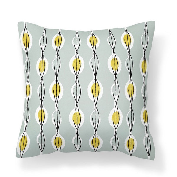 Fifties Abstract - Cushion - WendyKaye - 1