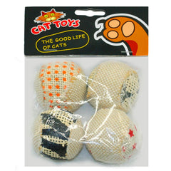 Interactive Rattle Ball Toys (4 pack)