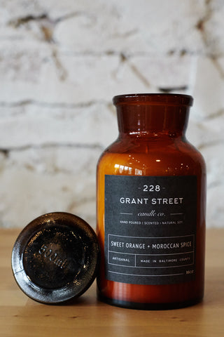 Sweet Orange + Moroccan Spice Apothecary Jar