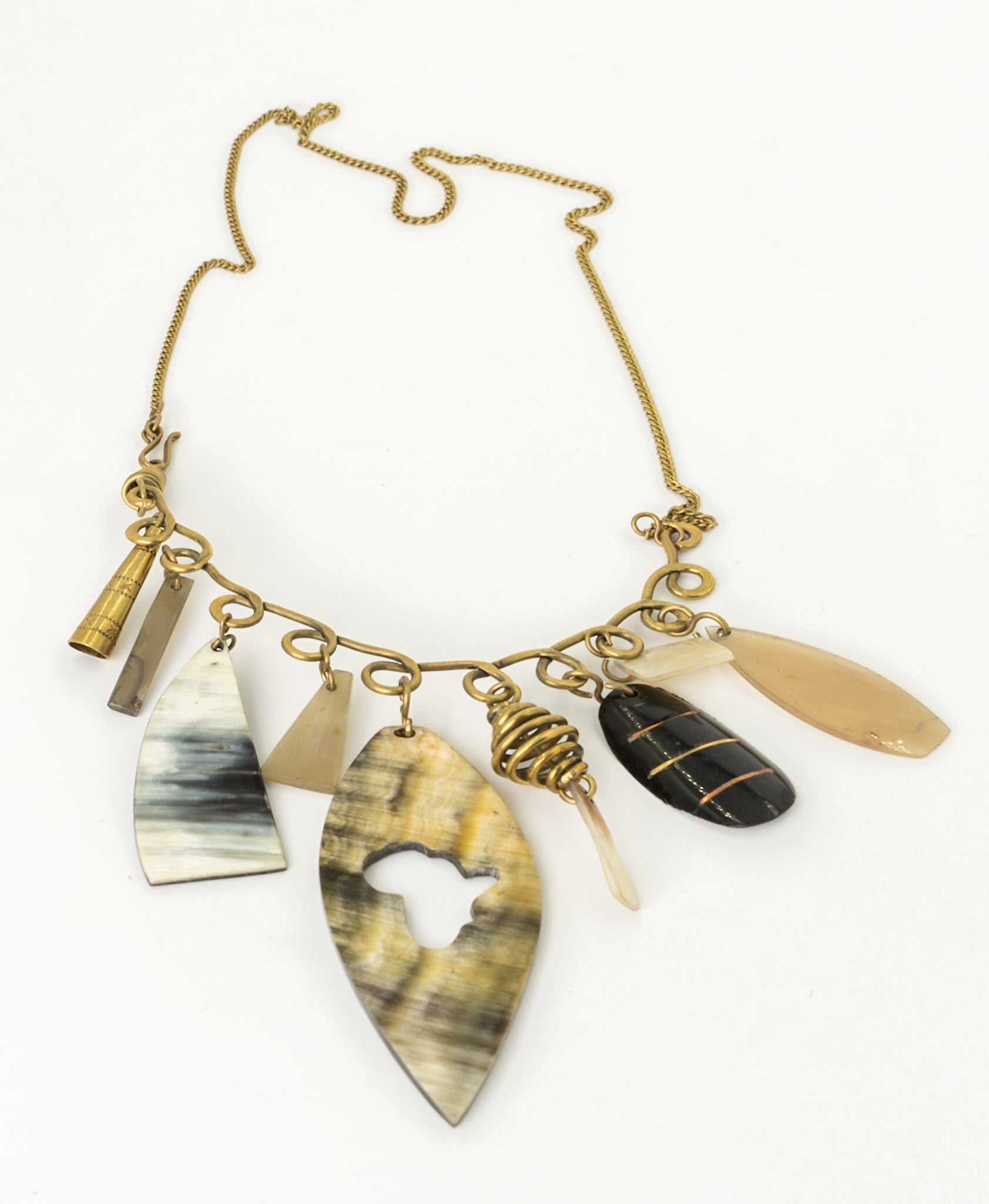 Africa Cutout Necklace