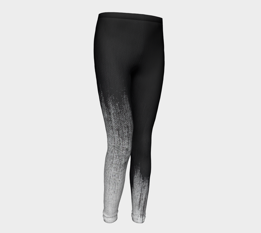 Abstract Brush Stroke Jr Leggings