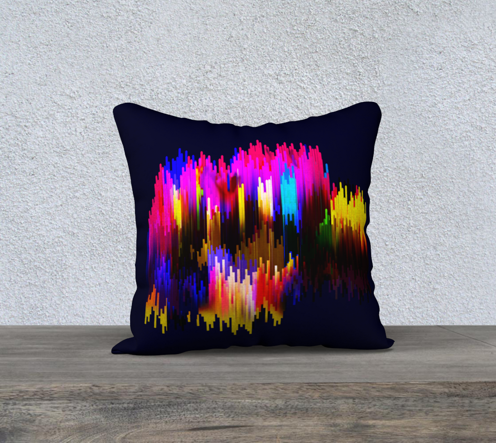 Some Things You Cant Explain Pillow-Cover 18 X 18 by ZAIRE