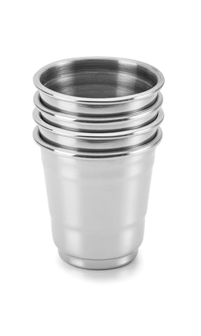 Stainless-steel Shot Glasses - Outset