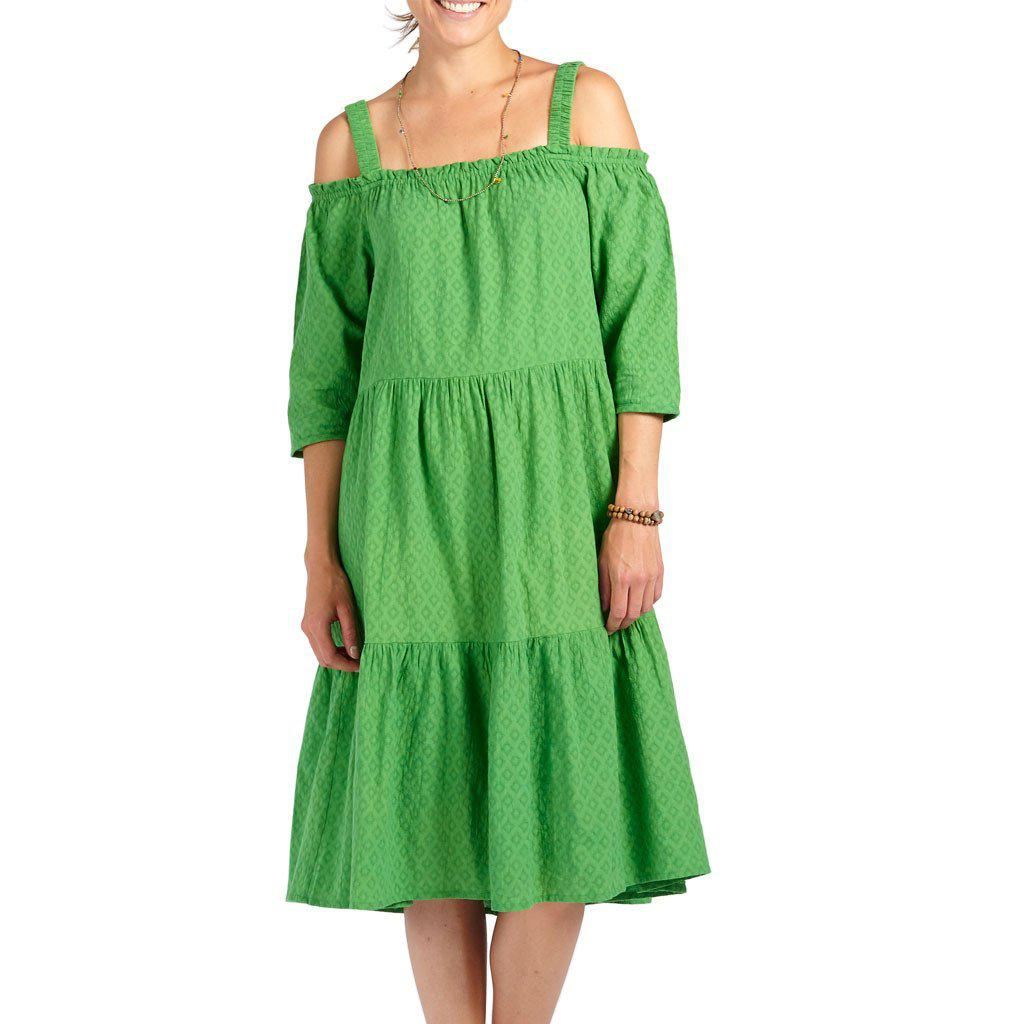 Pink Chicken Paulette Dress xs lime - 17sspcw168a