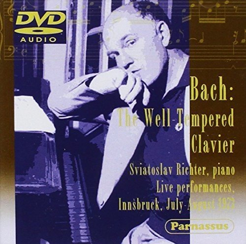 BACH, J.S.: 48 PRELUDES & FUGUES (WELL TEMPERED CLAVIER) LIVE IN INNSBRUCK - RICHTER, SVIATOSLAV (DVD-AUDIO)