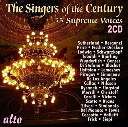 35 SINGERS OF THE CENTURY (2 CDS)